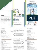 Folder - II Formação Feira