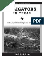 ALLIGATORS IN TEXAS