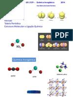 Aula 1-Estrutura Molecular e Ligacao