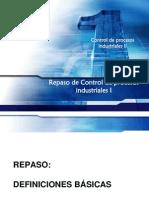 Control de Procesos Industriales-Tema 1