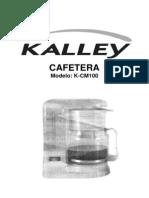 Manual Cafetera