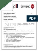 Aula 01 de 15 Prof Juliana Frederico (24.02.14) - Adv.pub 2014.01