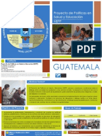Brochure HEPP Guatemala 2013