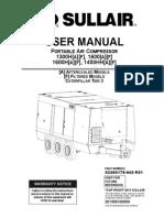 Sullair 1600 T3 Manual