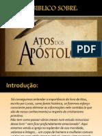 Atos Dos Apostolos.