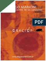 ORACIÓN Cancionero Diego Marioni