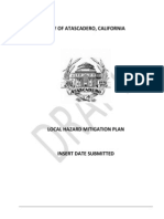 Atascadero's Local Hazard Mitigation Plan