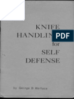 Knife Handling for Self Defense - George B. Wallace 1973
