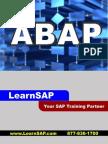 Sap Abap - A Step-By-step Guide - Learn Sap