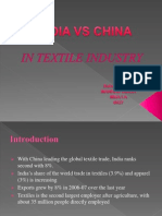 textile  industry ppt