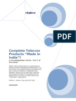 Complete Telecom Products Made in India