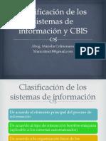 Clasificación de los sistemas de información y CBIS.pptx