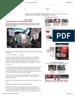 10 questões fundamentais para compreender a Revolução Síria | www.pstu.org.br