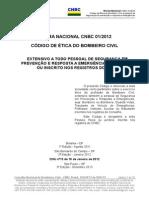 CNBC Codigo Etica Bombeiro Civil Set2013