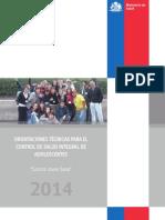 2014 Control Salud Adolescente 2014