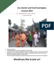 Climate Justice Caravan 2014
