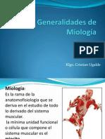 Generalidades de Miología Sek