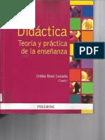 Didáctica Teoría y Práctica de La Enseñanza