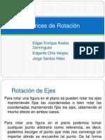 Matrices de Rotación