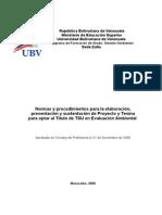 45865017 Normas Metodologicas Tesina