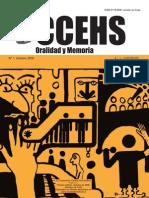 Revista Oralidad y Memoria