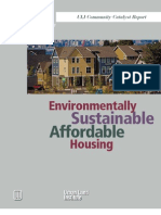 Environmentally Sustainable Affordable Housing