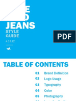 Bluebird Jeans Style Guide