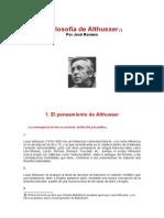 - La Filosofía de Althusser - José Romero