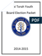 BTY Elections Packet 2014