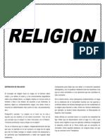 Definicion de Religion