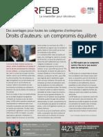 Infor FEB 37, 5 november 2009, Droits d'auteurs