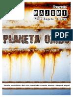 Propuesta - Un Planeta Oxidado - Cap CN 2013