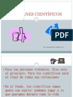 REFRANES CIENTÍFICOS