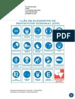 Salud Ocupacional Guia Epp