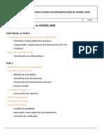 Passo a Passo Implementação ISO9001 2008
