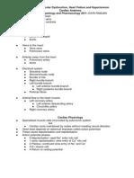 1. Cardiac Anatomy and Pharmacology (1)