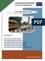 Trabajo de Transporte Urbano