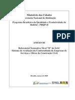 Referencial Normativo SIAC PBPQH Nivel D