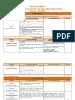 Agenda de Actividades (233003)