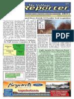 The Village Reporter - April 30th, 2014