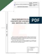 016 Procedimiento Gestion Registros Sistema Gestion Calidad