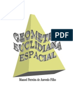 Geometria Euc Esp - Manoel Azevedo