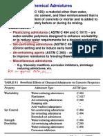 4 Chemical Admixtures(Class)