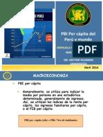 pbi percapita -  macroeconomia