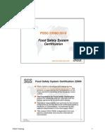 Modul 1 - Introduction FSSC 22000