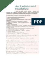 Buenas Prácticas de Auditoría y Control Interno en Las Organizaciones