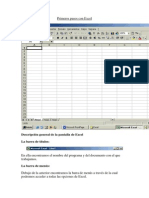 Primeros Pasos Con Excel