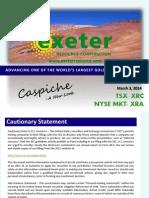 Caspiche Exeterpresentation140301