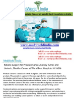 World's Most Advanced Robotic Surgery in India