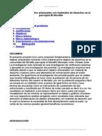 Elaboracion Objetos Artesanales Materiales Desechos Parroquia Moralito
